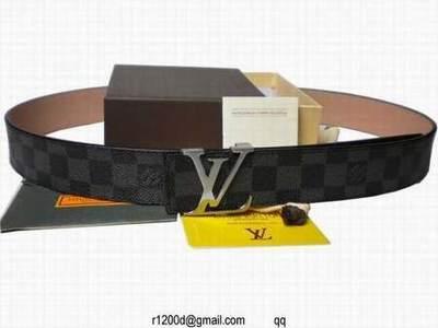 Nouvelle Ceinture louis vuitton Femme pas cher,ceinture louis vuitton toute  noir,ceinture lv initiales cuir taiga 90740ac2d80