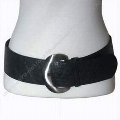 d2281a35555 ceinture large cuir a nouer